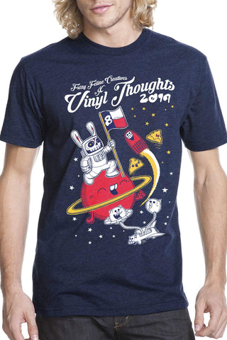 Vinyl Thoughts 8 Limited Edition Tee - Vinyl Thoughts - Furry Feline Creatives