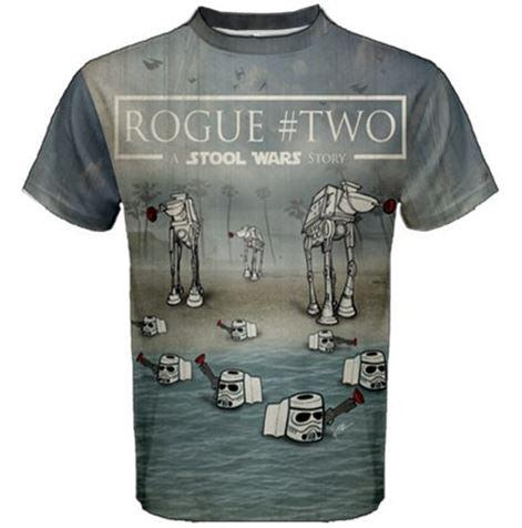 All-Over Print Rogue Two Cotton Tee - Furry Feline Creatives