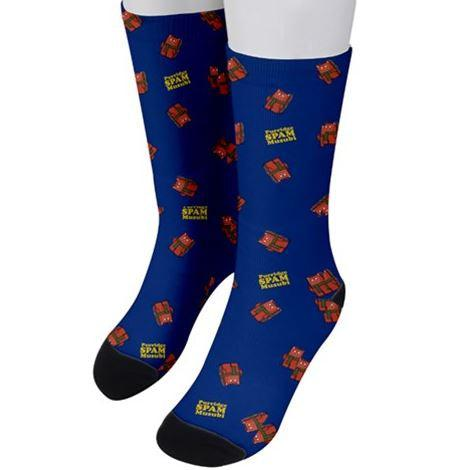 Purridge Spam Unisex Crew Socks - Purridge & Friends - Furry Feline Creatives