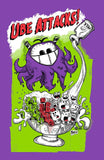 Ube Attacks Men's Tee - Purridge & Friends - Furry Feline Creatives