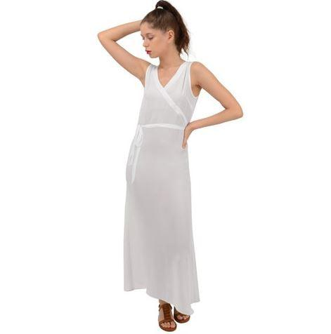 Custom V-Neck Chiffon Maxi Dress