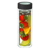 Glass Tea & Fruit Tumbler: GROSCHE Montréal - Black