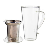 MARBELLA Glass Tea Mug with Infuser