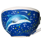 Thanks For All The Fish Dolphin Teacup