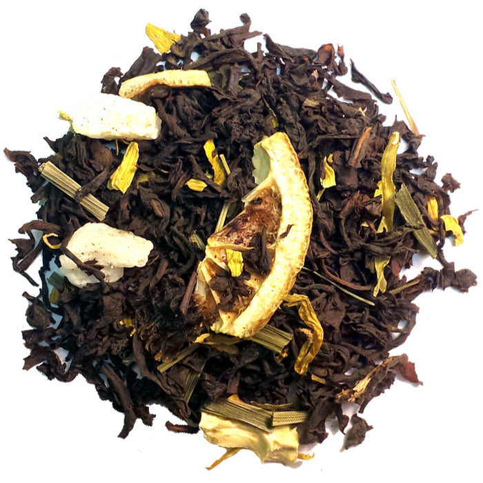 Lemon Black Loose Tea | Nerd Teas