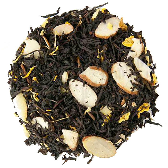 Maple Almond Crunch Black Loose Tea | Nerd Teas