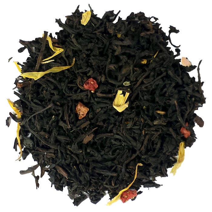 Sunset Strawberry Black Loose Tea | Nerd Teas