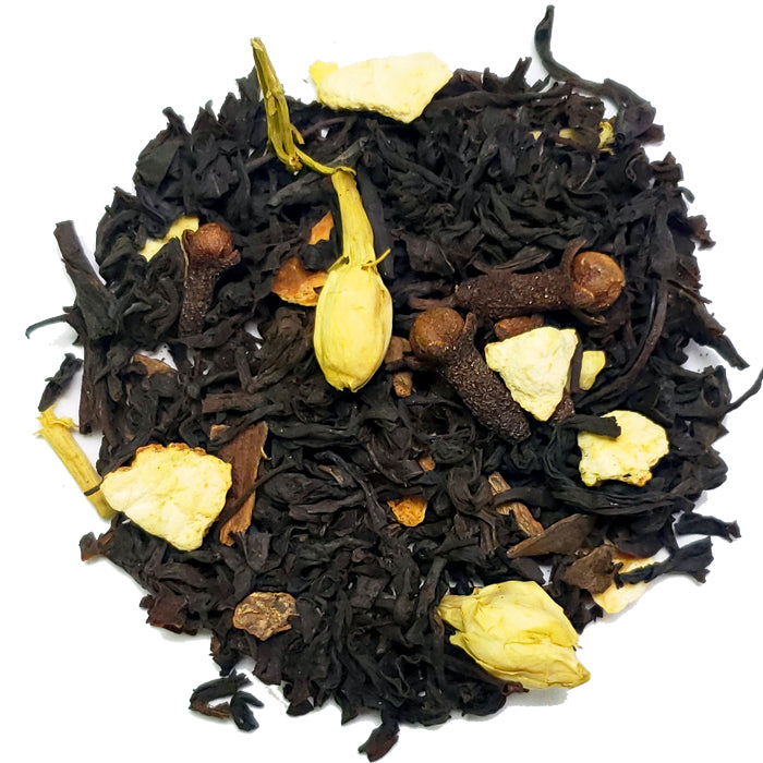 Winter Clementine Black Loose Tea | Nerd Teas