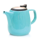 Daze Ceramic Teapot w/ Stainless Steel Lid & Infuser