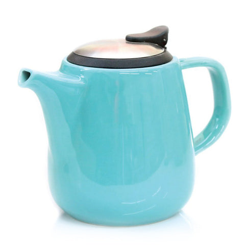 Daze Ceramic Teapot w/ Stainless Steel Lid & Infuser (Turquoise)