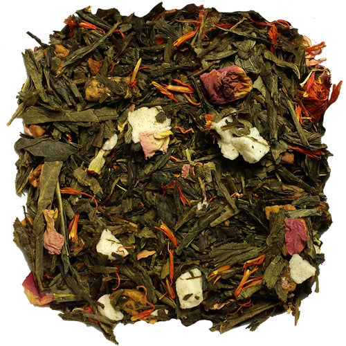 Golden Apple Cinnamon Green Loose Tea | Nerd Teas