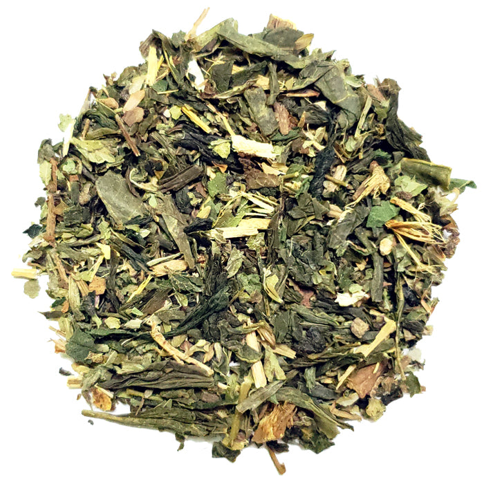 Lemon Ginger Green Loose Tea | Nerd Teas