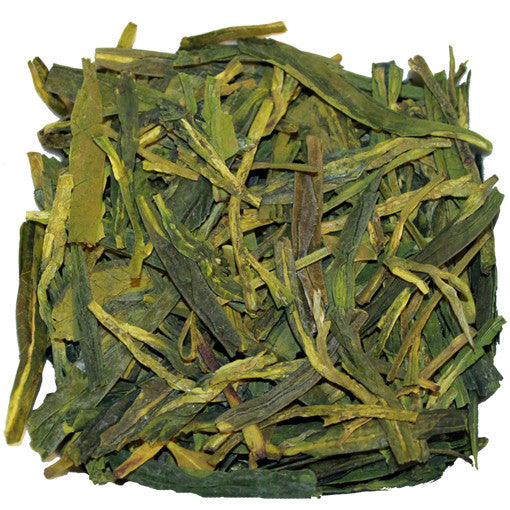Long Jing Dragon Well Green Loose Tea | Nerd Teas
