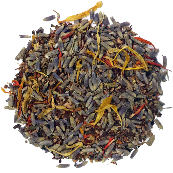 Calming Lavender Ayurvedic Herbal Loose Tea | Nerd Teas