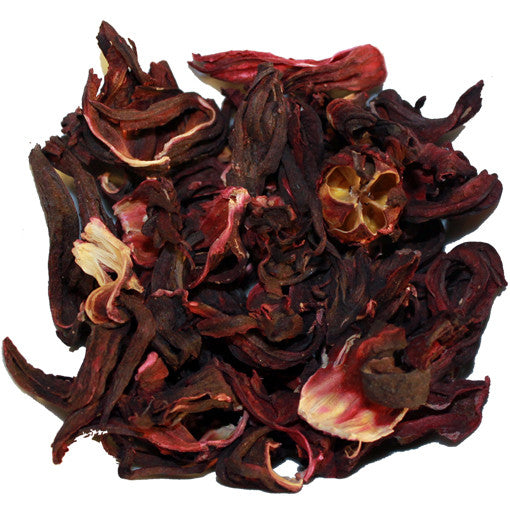 Hibiscus Herbal Loose Tea | Nerd Teas