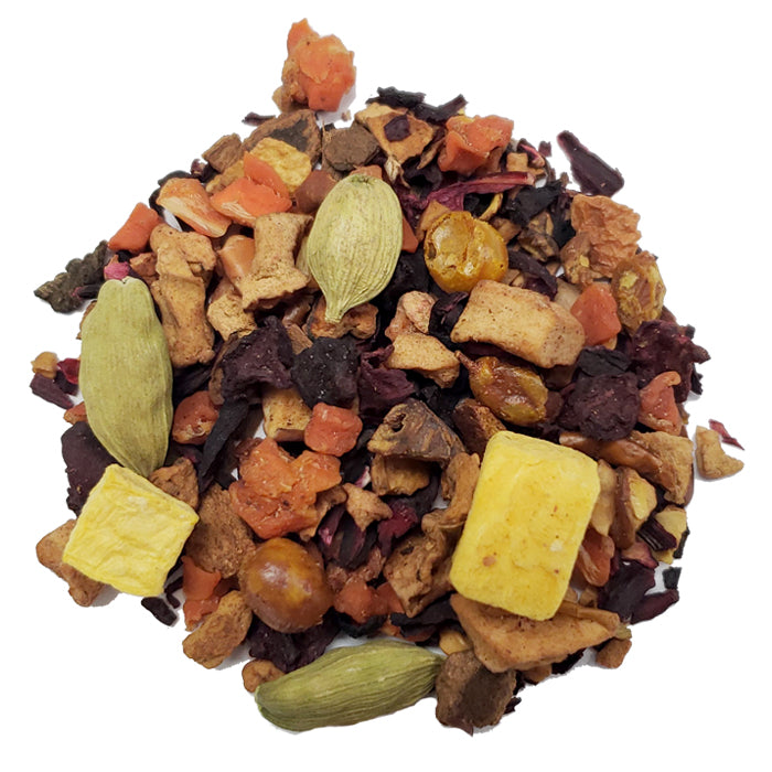 Pumpkin Pie Herbal Loose Tea | Nerd Teas