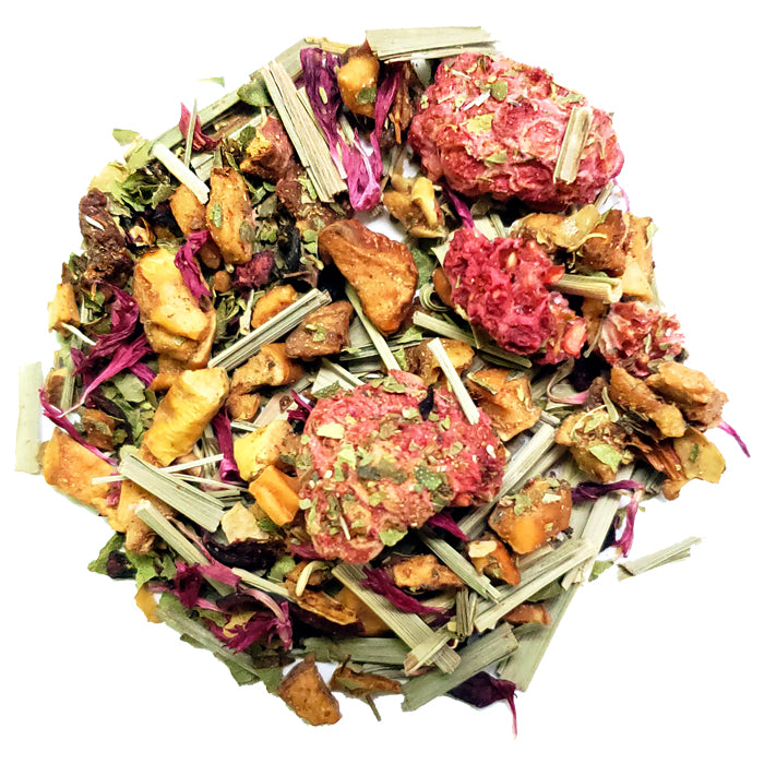 Raspberry Lemonade Herbal Loose Tea | Nerd Teas