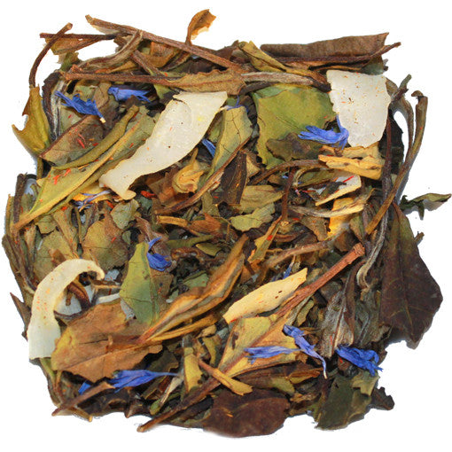 Coconut Cream White Loose Tea | Nerd Teas