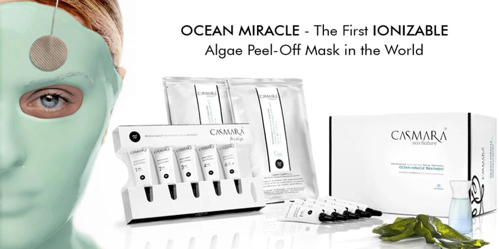OCEAN MIRACLE The First IONIZABLE Algae Peel-off Mask