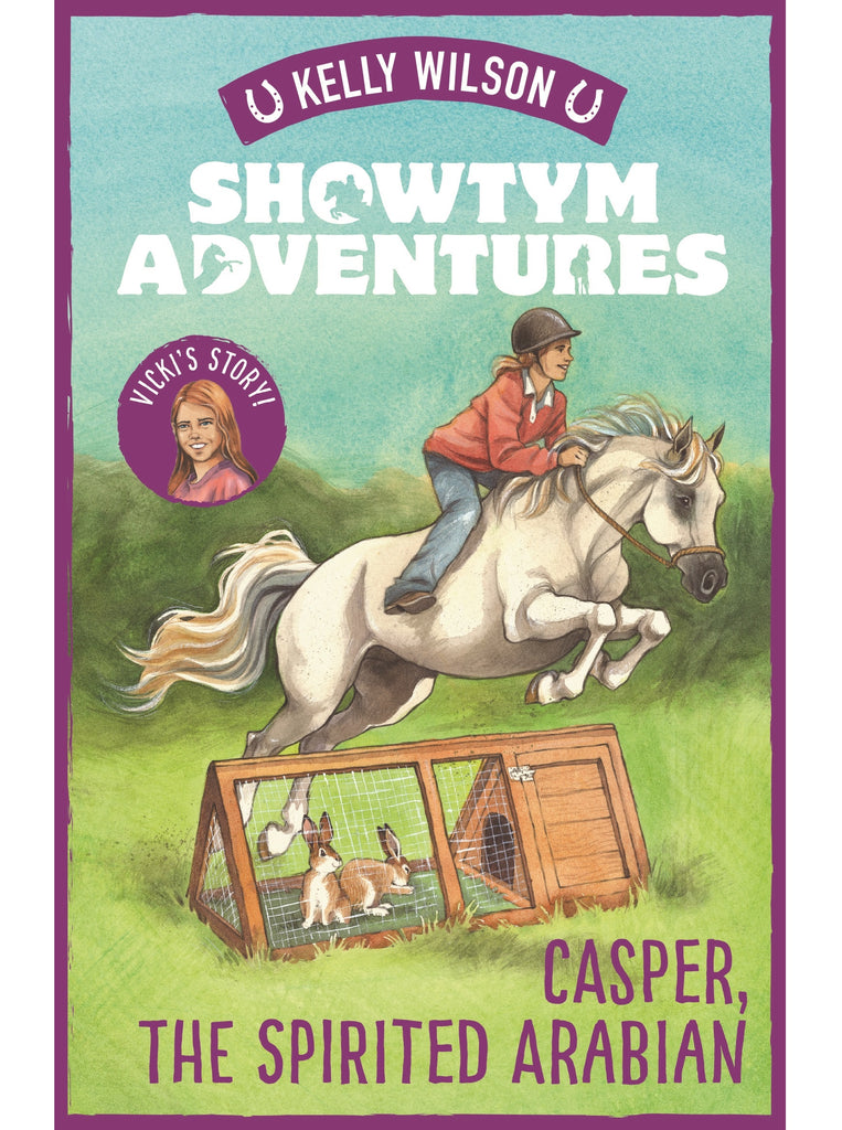 SIGNED Showtym Adventures 3: Casper, The Spirited Arabian