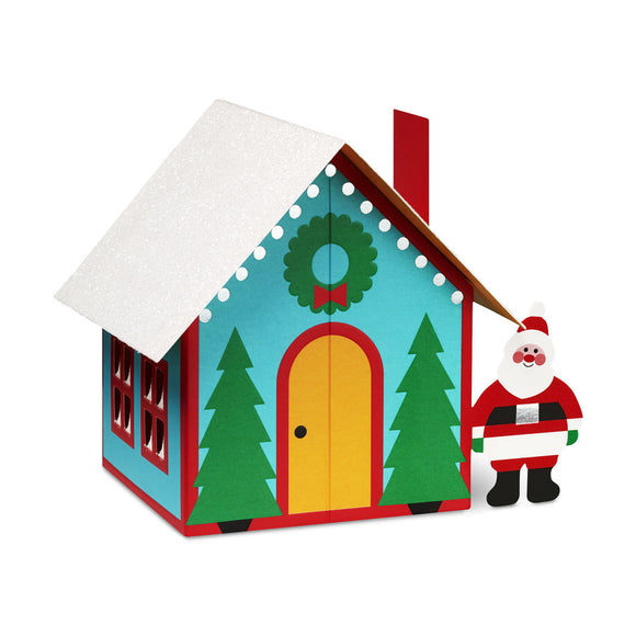 Santa's House Holiday Cards