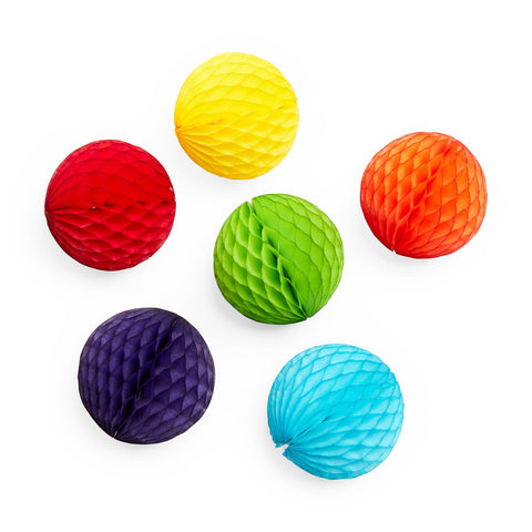 Honeycomb Mini Ball Ornaments