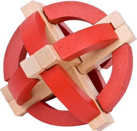 FLW Red Sphere 3D Block Puzzle