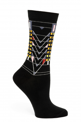 FLW Tree of Life Women's Socks, Black