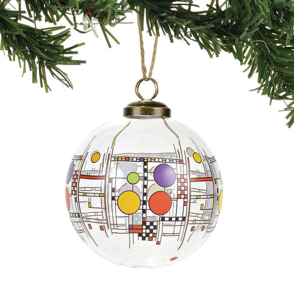 Coonley Playhouse Glass Ornament