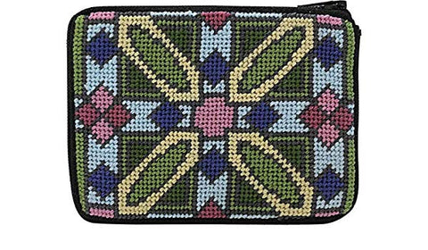 Luxfer Prism Coin Purse Needlepoint Kit