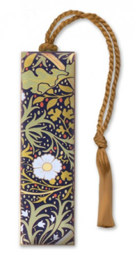 William Morris Seaweed Bookmark