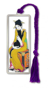 The Geisha and the Black Cat Bookmark