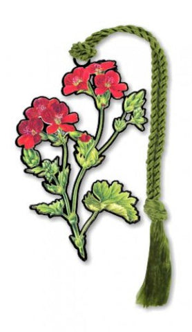Geranium Bookmark