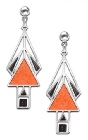Marion Mahony Window Earrings