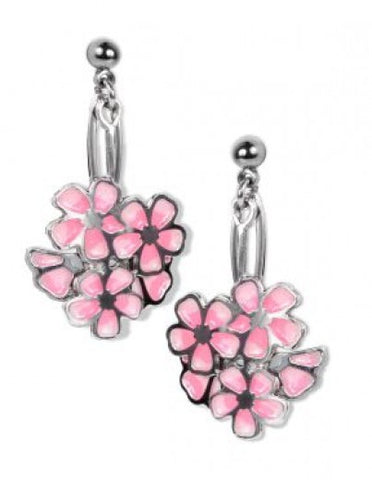 Hiroshige Cherry Blossom Earrings