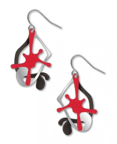 Splatter Earrings