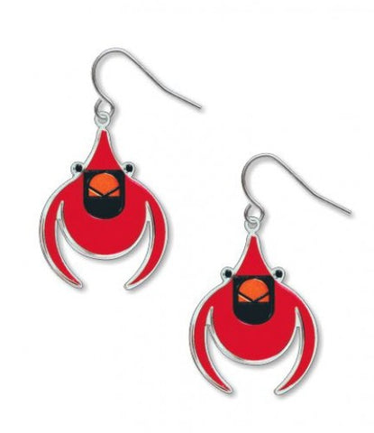 Charley Harper's Cardinal Earrings