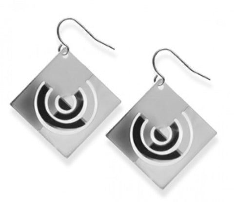 Bauhaus Papercut Earrings