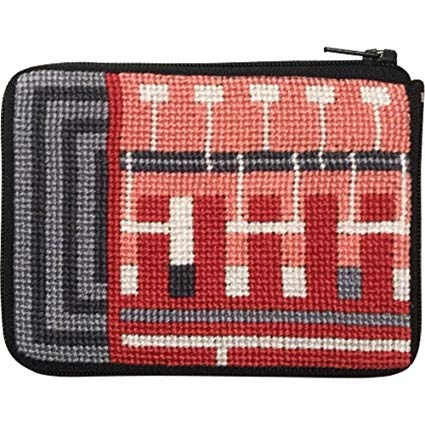 Schumacher Coin Purse/Credit Card Case Needlepoint Kit