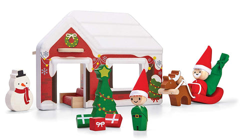Santa's House by PlanToys