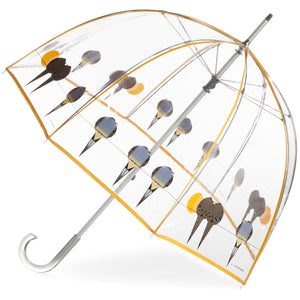 "Charley Harper's ""Lovey Dovey"" Bubble Umbrella"