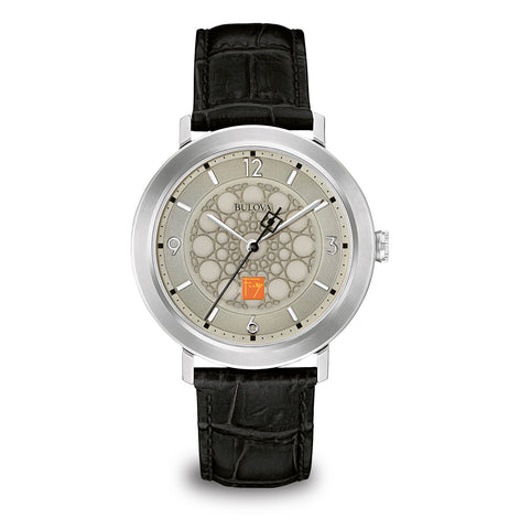 Frank Lloyd Wright SC Johnson Men's Watch, Silver