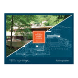 Frank Lloyd Wright Fallingwater 2-in-1, Double Sided Puzzle