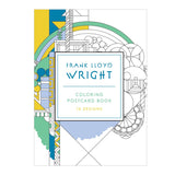 Frank Lloyd Wright Coloring Postcard Book