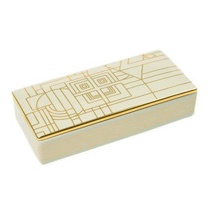 Frank Lloyd Wright 150 Anniversary Decorative Ceramic Box