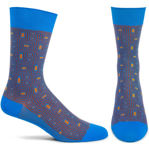 Concrete Frieze Men's Socks