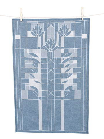 Waterlilies Jacquard Tea Towel