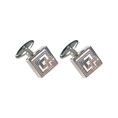 "FLW ""Brick"" Cufflinks"