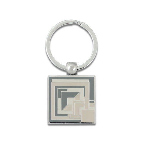 "FLW ""Brick"" Key Ring"