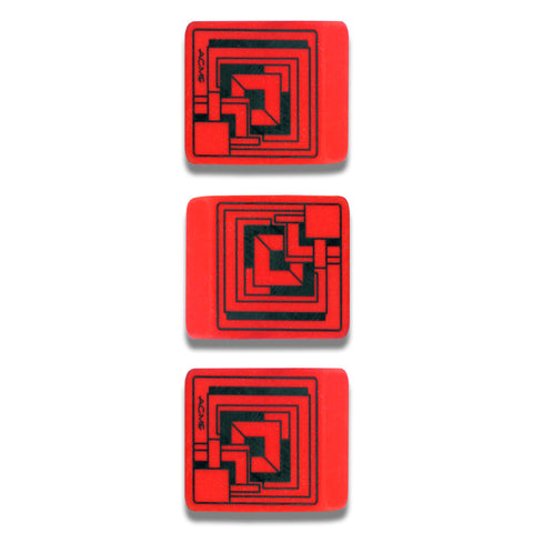 Ennis House Eraser 3 Pack